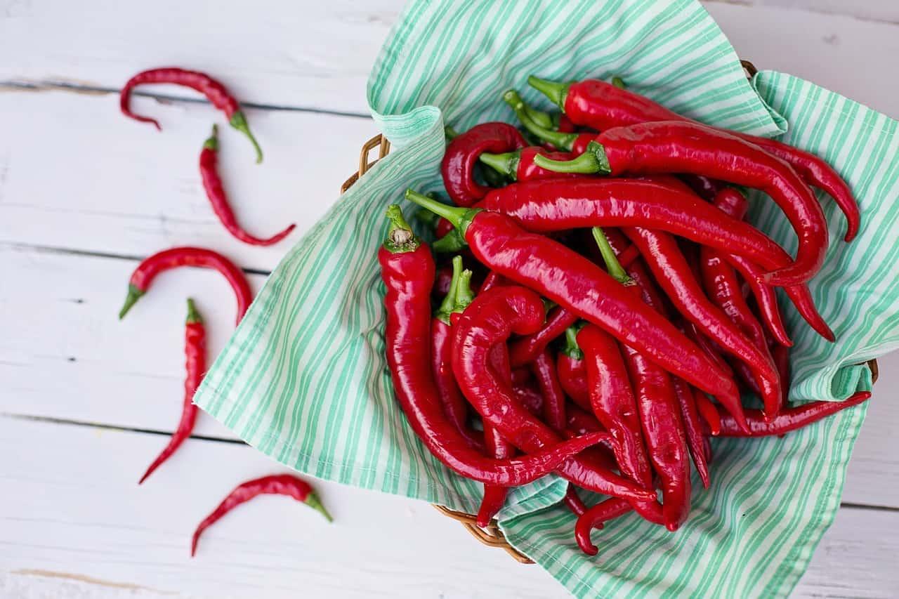 Cayenne peper gezond